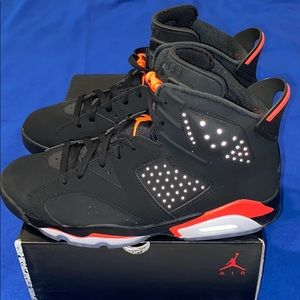 Nike Air Jordan Retro 6 VI BLACK INFRARED OG 2019